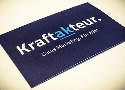 Kraftakteur.de - gutes Marketing für alle