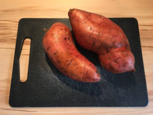 Süßkartoffel Pommes Andre mampft gudd gess in Saarbrücken