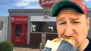 Der Wurstautomat von Schwamm. Der Wurstomat. Neu in Saarbrücken