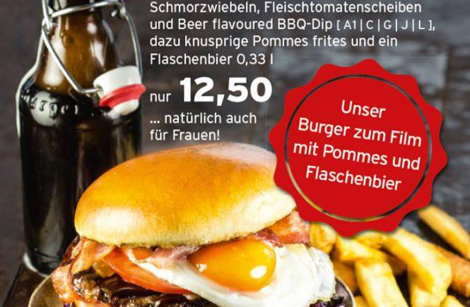 Leckere Burger und Bier gibt's bei Alex in Saarbrücken