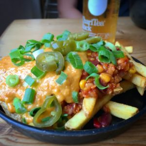 Chilicheese Fries vegan