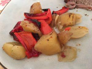 Gemüse passend dazu fertig und deftig