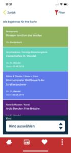So fand ich das Gasthaus in der Pfalzwerkzeug App