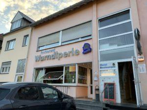 Der Shop befindet sich im Hotel Restaurant Warndtperle