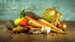 Besonders grünes Gemüse enthält viele Vitamine