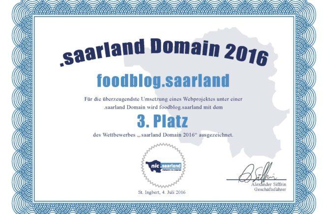 Foodblog .saarland Domain
