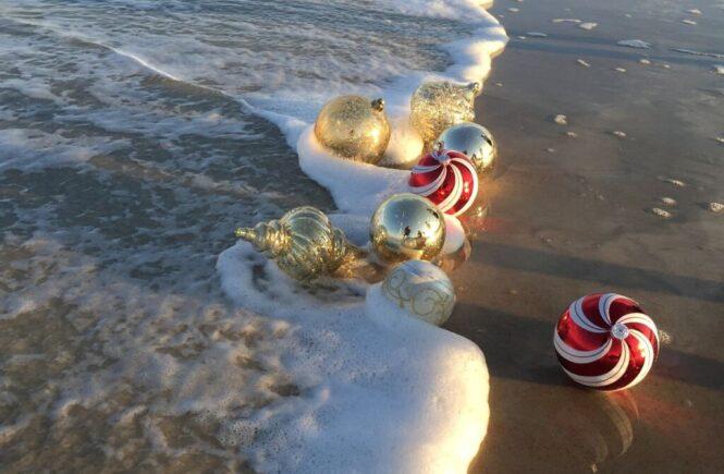 So mancher verbringt bei 40 Grad am Strand das Weihnachtsfest
